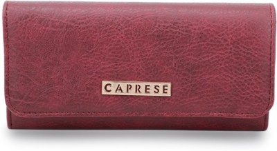Caprese Women Purple Artificial Leather Wallet(6 Card Slots)