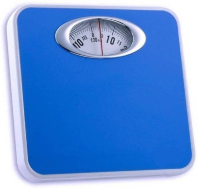 ZEOM Human Body Weight Measuring Analog Mechanical Weighing Scale(Blue)