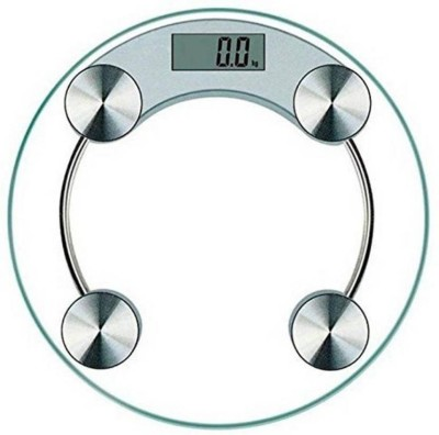 ZEOM ®6MM Digital glass Weighing Scale(White) Weighing Scale(White)