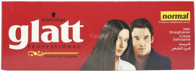 Schwarzkopf Glatt Professional Keratin Hair Straightening Cream NORMAL Hair Relaxer(105 g)