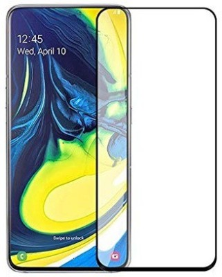 S-Softline Edge To Edge Tempered Glass for Samsung Galaxy A80(Pack of 1)