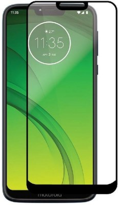 Ultimate Edge To Edge Tempered Glass for Moto G7 Power(Pack of 1)