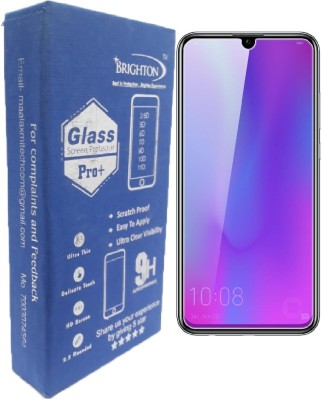 "BRIGHTRON Edge To Edge Tempered Glass for Anti Blue Ray Light Filter Film Eye Protector Screen Guard, Screen Protector, Tempered Glass for Honor 10 Lite (6.21"" inch) (Anti Mirror Reflection)(Pack of 1)"