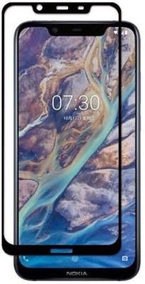 S-Hardline Tempered Glass Guard for Nokia 7.1 Plus(Pack of 1)
