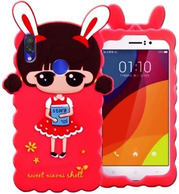 MV Back Cover for Mi Redmi Note 7(Red, Dual Protection, Silicon)