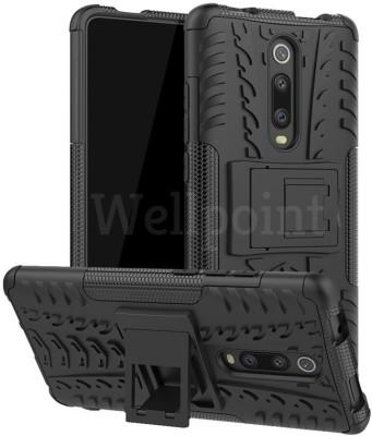 Wellpoint Back Cover for Mi K20, Mi K20 Pro, Mi K20, Mi K20 Pro, Plain, Case, Cover(Black, Grip Case)