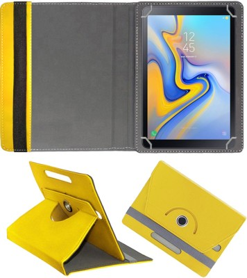 Fastway Flip Cover for Samsung Galaxy Tab A 10.5 inch with Wi-Fi+4G Tablet(Yellow, Cases with Holder)