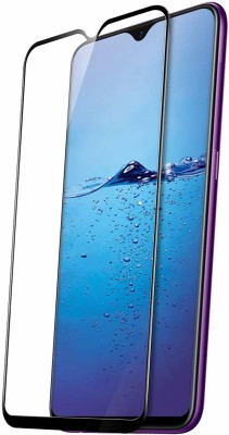 GeekMart Edge To Edge Tempered Glass for Samsung Galaxy A70(Pack of 1)