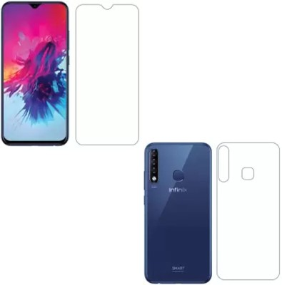 GS SMART Front and Back Screen Guard for Infinix Smart 3 Plus {Flexible}(Pack of 2)