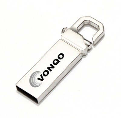 Vonqo v4.1 Car Bluetooth Device with Audio Receiver(Silver)