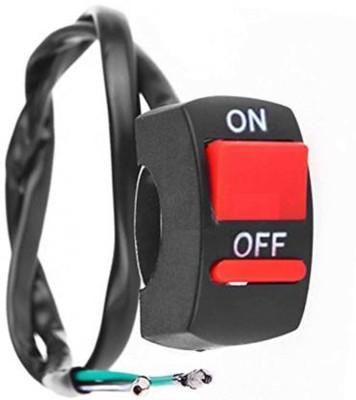 Alexa India Fog Light Switch Handle Bar Electrical System (12V) 3 A...