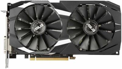 Asus NVIDIA Radeon RX 580 8GB Dual-Fan OC Edition GDDR5 DP HDMI DVI VR Ready AMD Graphics Card (DUAL-RX580-O8G) 8...