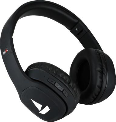 boAt Rockerz 380 Bluetooth Headset(Luscious Black, Wireless over the head)