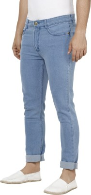 Urbano Fashion Slim Men Light Blue Jeans