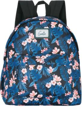 Genie 16 inch Laptop Backpack(Black)