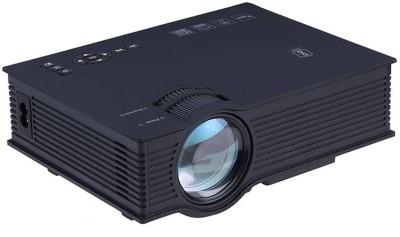 Livato UC68 FullHD LED WiFi Projector Portable Projector(Black)