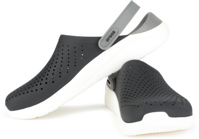 Crocs Men Black, Grey Clogs