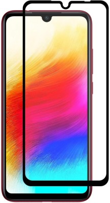 small candy Edge To Edge Tempered Glass for Xiaomi Redmi Note 7 PRO(Pack of 2)