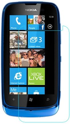 CHAMBU Tempered Glass Guard for Nokia Lumia 610(Pack of 1)