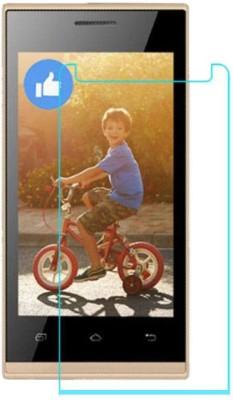CHAMBU Tempered Glass Guard for Intex Aqua Star 5.0 Kitkat(Pack of 1)