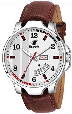 Espoir NA Day and Date Functioning High Quality Analog Watch  - For Boys