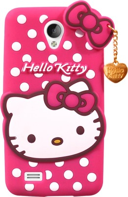 COVERNEW Back Cover for VIVO Y21L(Pink)