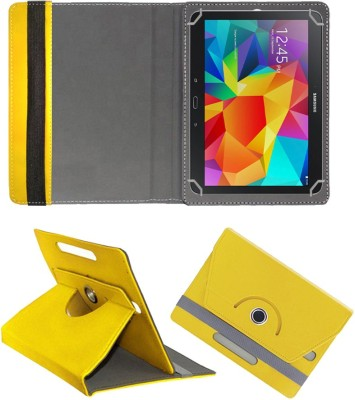 "Fastway Flip Cover for Samsung Galaxy Tab 4 10.1"" SM-T530(Yellow, Cases with Holder)"