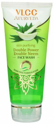 VLCC Ayurveda Double Power Double Neem Face Wash