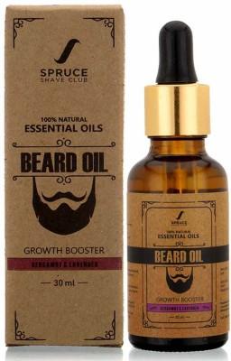 Spruce Shave Club Beard Growth Oil (30ml) | 100% Natural | For Beard Growth Hair Oil(30 ml)