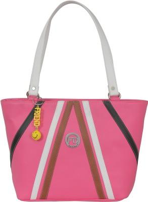 FD FASHION Women White, Pink Shoulder Bag FD FASHION Handbags