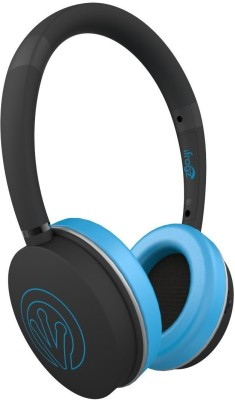 iFrogz Audio-Rythmix- Headphones-Blue Wired Headset with Mic(Blue, On the Ear)