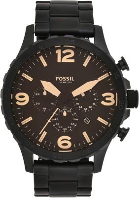 Fossil JR1356I Nate Analog Watch - For Men