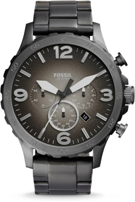 Fossil JR1437I Nate Analog Watch   For Men Fossil Wrist Watches