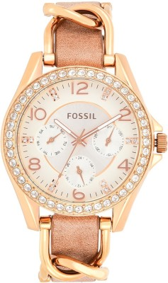 Fossil ES3466 Riley Analog Watch - For Women