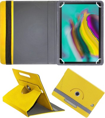Fastway Flip Cover for Samsung Galaxy Tab S5E LTE (Sm-T720) 10.5 inch 4G Tablet(Yellow, Cases with Holder)