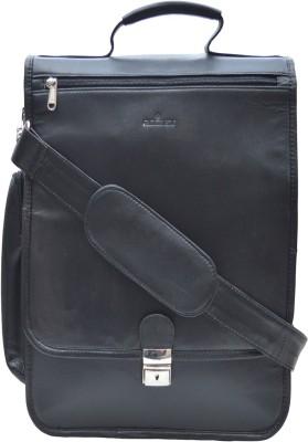 roclex Men & Women Black Messenger Bag