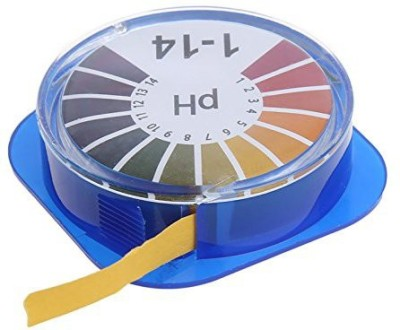 Futurekart 5 Meter PH Test Strips Acid Test Paper Water Litmus Testing Kit Ph Test Strip(1 - 14)