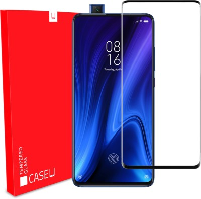Case U Edge To Edge Tempered Glass for Mi K20, Mi K20 Pro(Pack of 1)