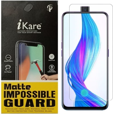 iKare Impossible Screen Guard for Realme X(Pack of 1)
