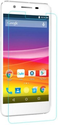 CHAMBU Tempered Glass Guard for Micromax Canvas Blaze MT500(Pack of 1)