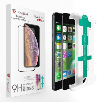 RAEGR Tempered Glass Guard for Apple iPhone 6s Plus / iPhone 6 Plus(Pack of 1)
