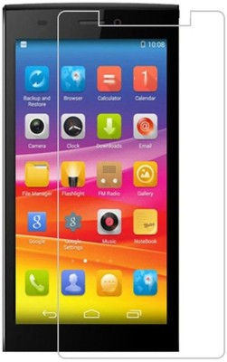 CHAMBU Tempered Glass Guard for Micromax A35 Bolt(Pack of 1)