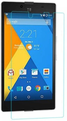 CHAMBU Tempered Glass Guard for Micromax A76 Canvas Fun(Pack of 1)
