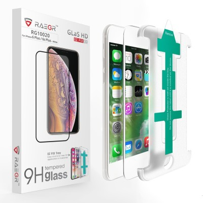 SpyCom Tempered Glass Guard for Apple Iphone 6s Plus(full body cover Glass)(Pack of 1)