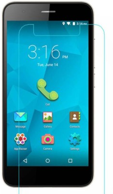 CHAMBU Tempered Glass Guard for Micromax Canvas Fun A63(Pack of 1)