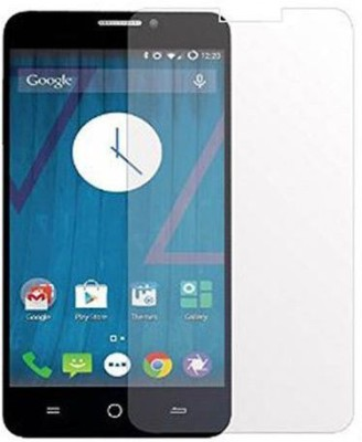 CHAMBU Tempered Glass Guard for Micromax Canvas Juice A177(Pack of 1)