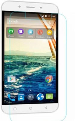 CHAMBU Tempered Glass Guard for Micromax'Canvas Turbo Mini A200(Pack of 1)
