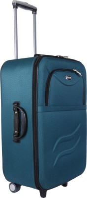 VIDHI Turquoise color trolley bag 24\