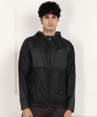 UNDER ARMOUR Prevail Windbreaker Solid Men Wind Cheater