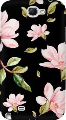COBIERTAS Back Cover for Vivo Y53i(Multicolor Black Floral Pink Roses design Designer Print Printed Design, Hard Case)